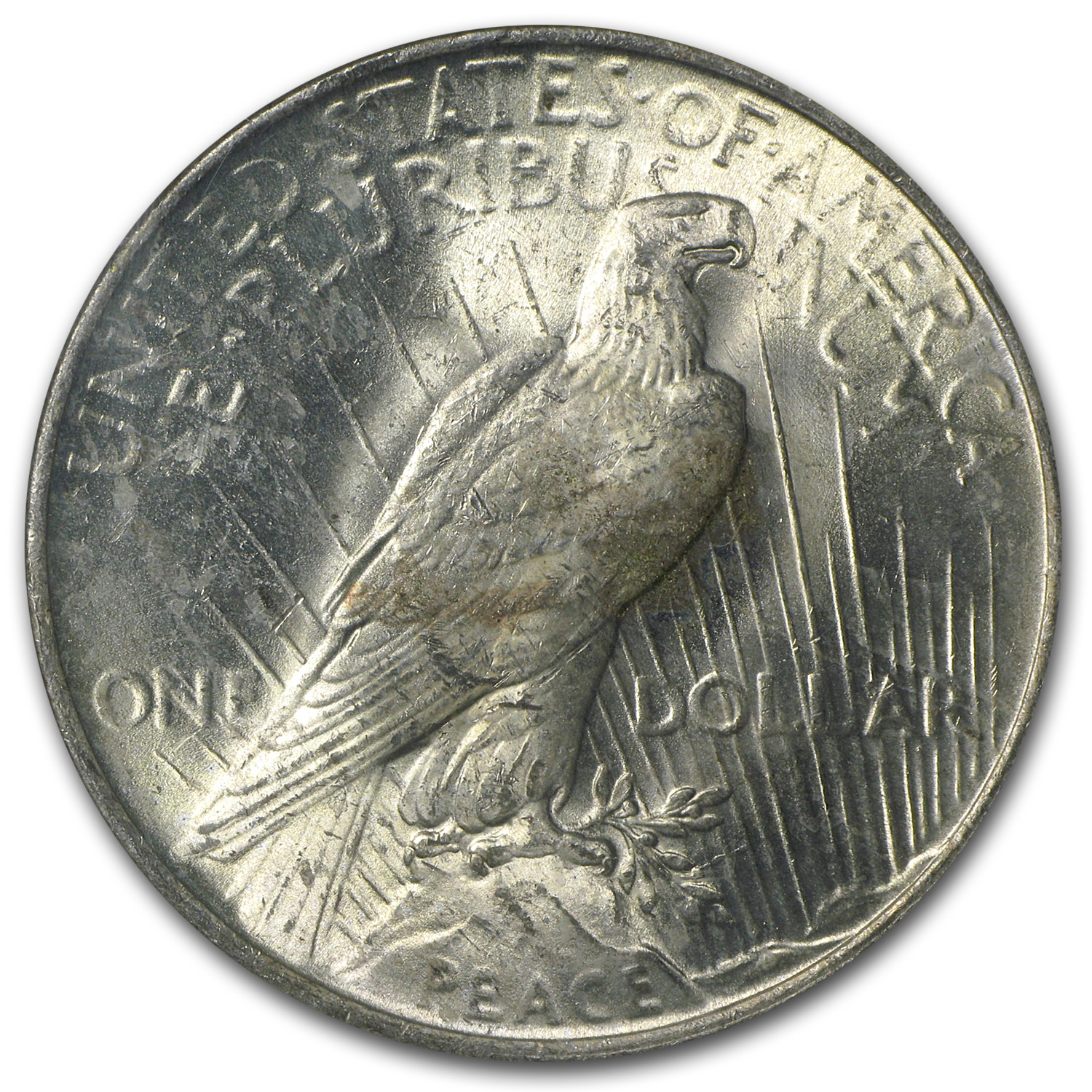 1922 Peace Dollar MS-63 NGC (Binion Collection)